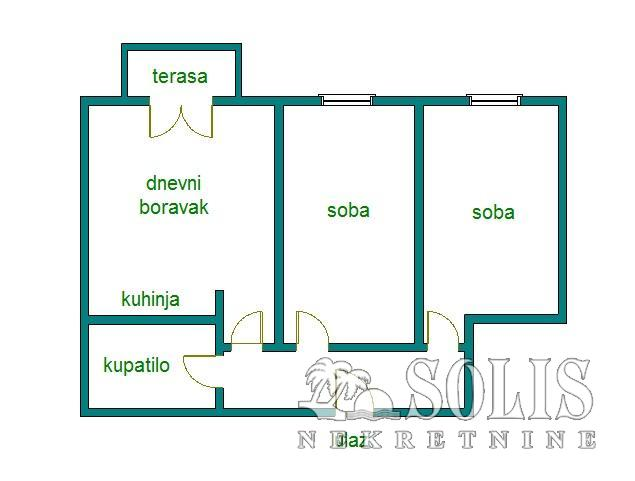 Apartment, Novi Sad, Detelinara | Šifra: 1038017